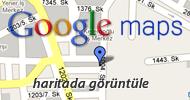 Adresi Google Maps haritasında görüntüle